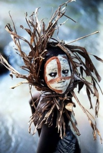 african child face paint