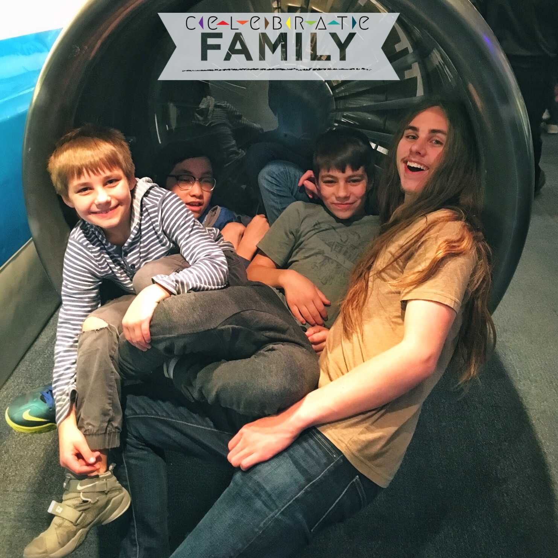 celebrate family plane