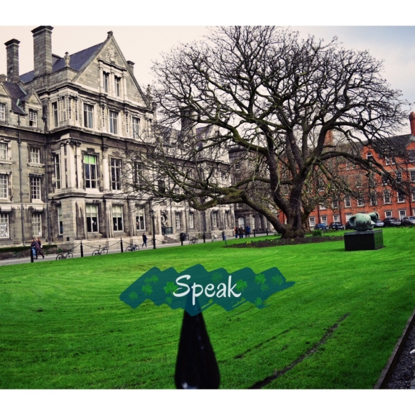 speak trinity college dublin