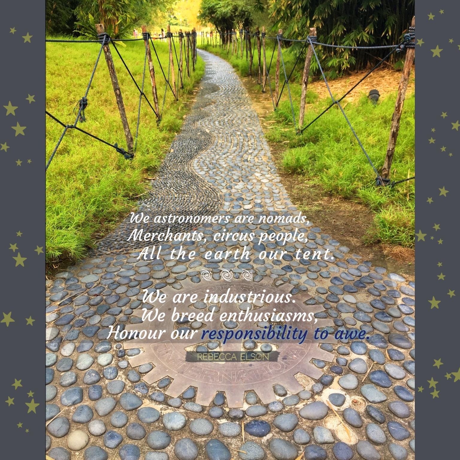Responsibility to Awe path